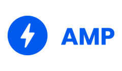 AMP Project with lightening bolt