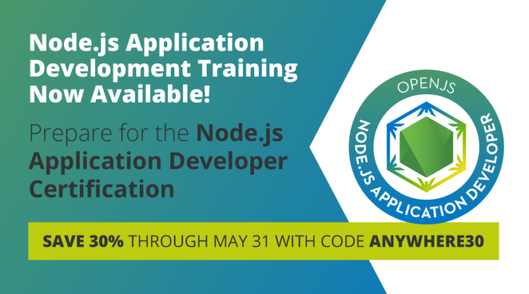 certification js node supports developers goals technical career course training