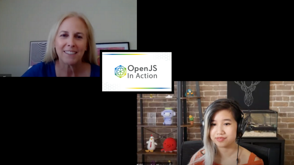 Robin Ginn, executive director of the OpenJS Foundation, interviewed Tiffany Le-Nguyen, Software Development Engineer at Expedia Group.